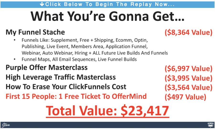My Funnel Stache Pricing
