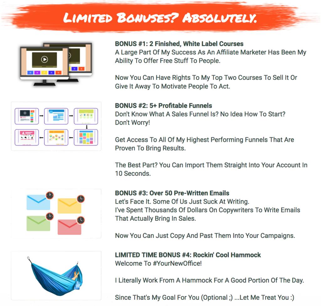 Limited Bonuses