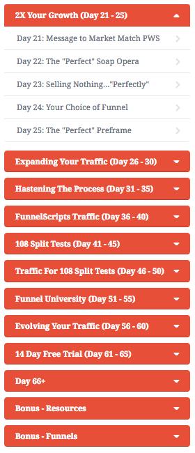 66+ days of affiliate marketing training