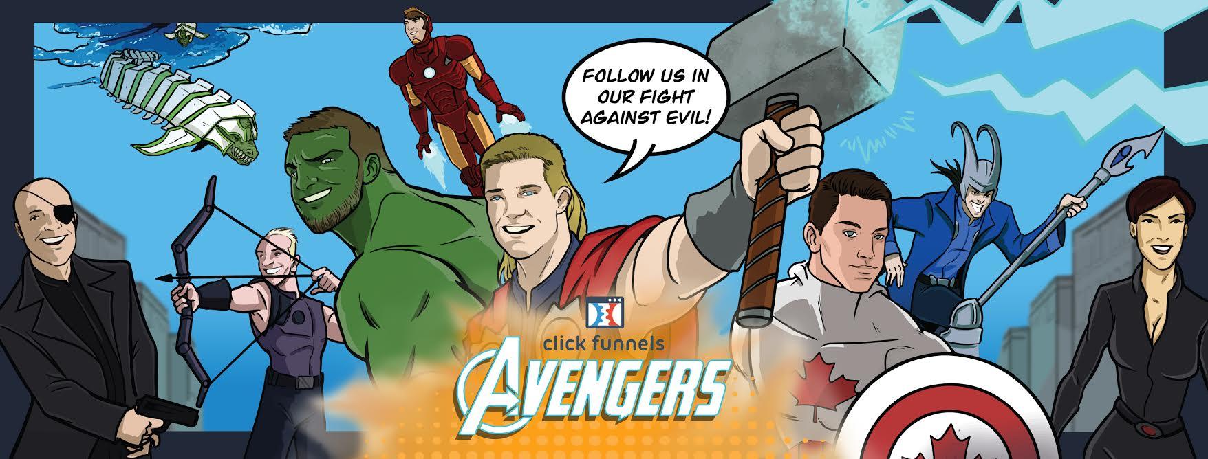 facebook Avengers Affiliate Group