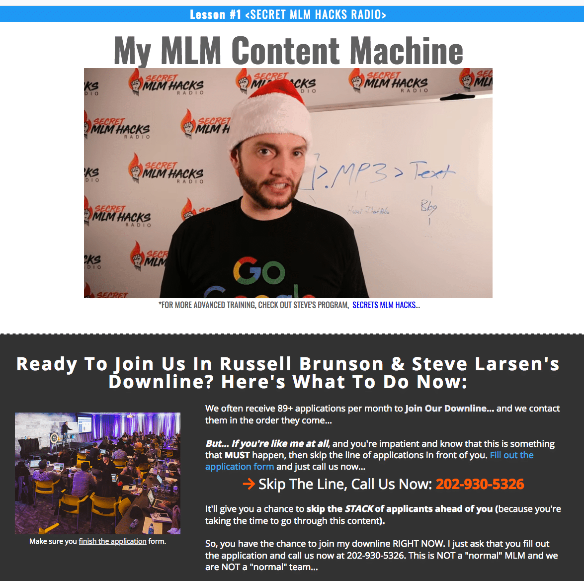 mlm content machine