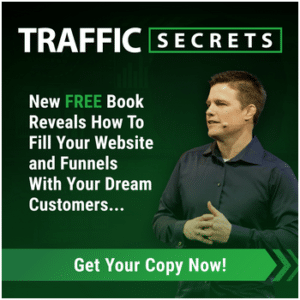 Traffic Secrets Book offer