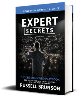 Hardcover Expert Secrets book