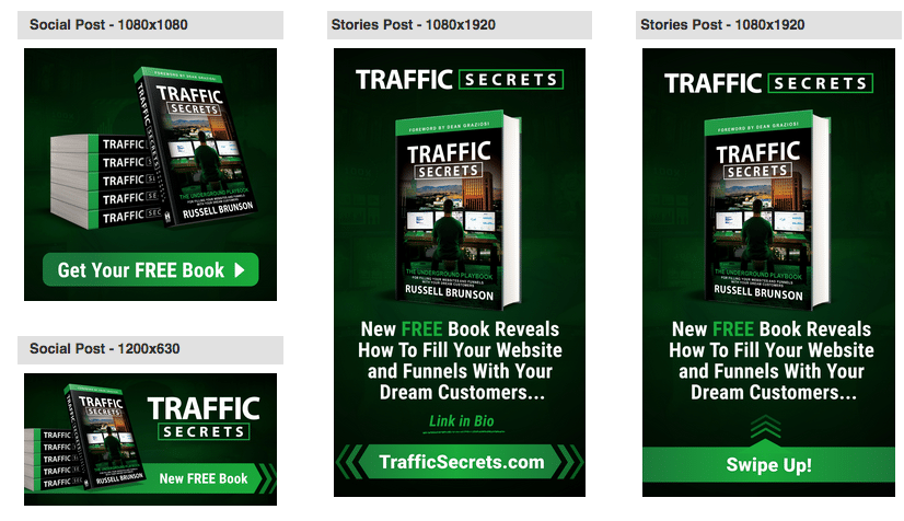 back office affiliate swipe and banner ads
