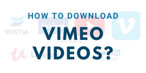 download vimeo videos